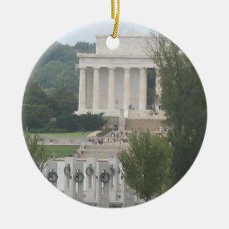 Washington D.C. Collectible Ornament セラミックオーナメント