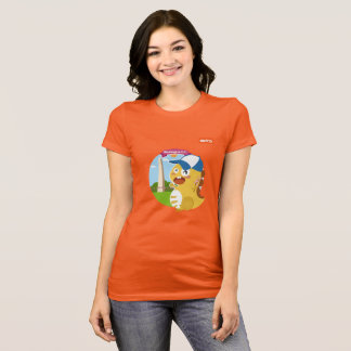 Washington D.C. VIPKID T-Shirt (オレンジ) Tシャツ