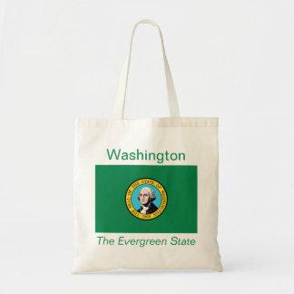 Washingtonianの旗のバッグ トートバッグ