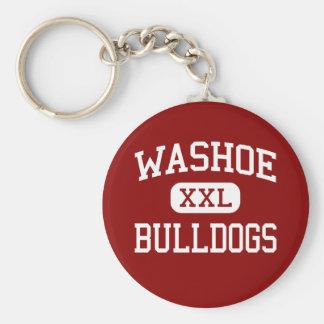 Washoe -ブルドッグ-高等学校-レノネバダ キーホルダー