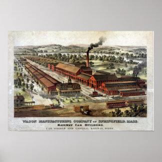 Wason Manufacturing Company ポスター