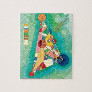 Wassily Kandinsky著カラフルな三角形 ジグソーパズル