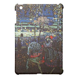 Wassily Kandinsky著乗馬のカップル iPad Miniカバー