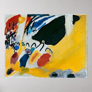 Wassily Kandinsky著印象III (コンサート) ポスター