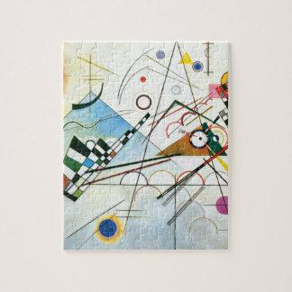 Wassily Kandinsky著構成VIII ジグソーパズル