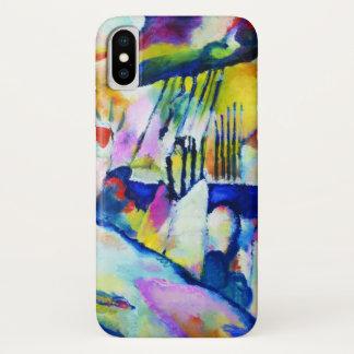 Wassily Kandinsky著雨との景色 iPhone X ケース