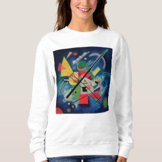 Wassily Kandinsky著青い絵画 スウェットシャツ