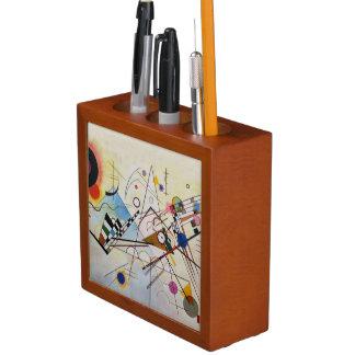 Wassily Kandinsky -構成8 -機能芸術 ペンスタンド