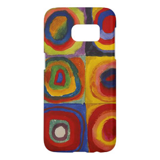 Wassily Kandinsky-Farbstudie Quadrate Samsung Galaxy S7 ケース