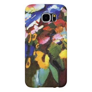 Wassily Kandinsky-Murnauの庭 Samsung Galaxy S6 ケース