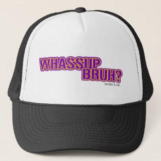 wassupのbruhの帽子 キャップ
