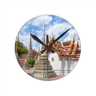 Wat Pho、バンコク ラウンド壁時計