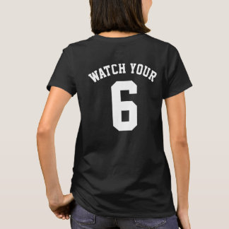 Watch Your Six Back Print T-Shirt Tシャツ