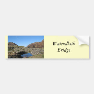 Watendlath橋 バンパーステッカー