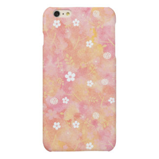 Water Color Flower Pink iphone6 plus Case