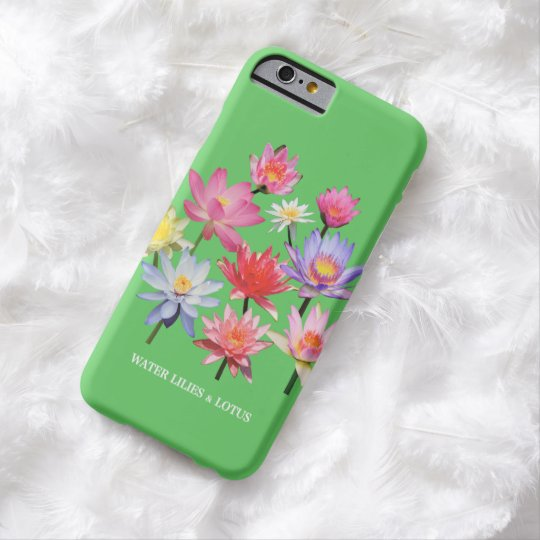 Water Lilies & Lotus Barely There iPhone 6 ケース