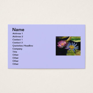 Waterlillies 名刺