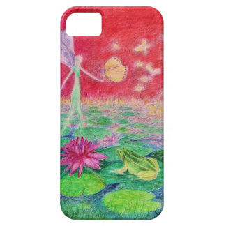 waterlilly-elve iPhone 5 case