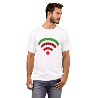 WatermelonWiFi Tシャツ