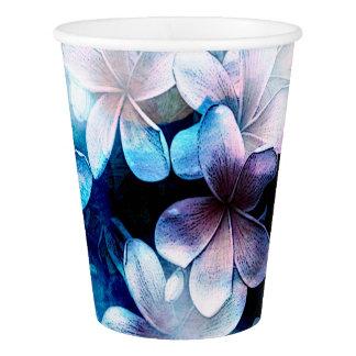 Waterolorsの鮮やかな青Pulmaria 紙コップ
