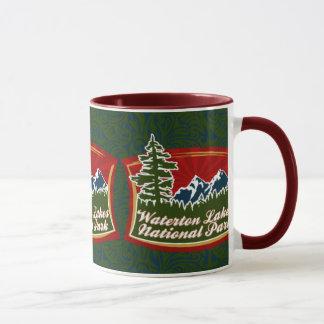 Waterton山のマグ マグカップ
