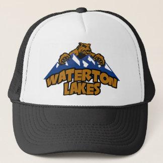 Waterton湖くま山 キャップ