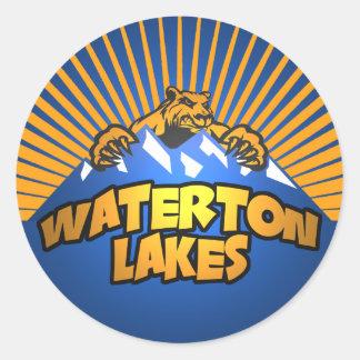 Waterton湖くま山 ラウンドシール