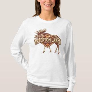 Waterton湖のアメリカヘラジカ Tシャツ