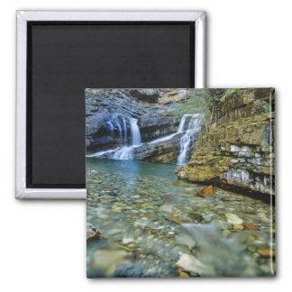 Waterton湖の国立公園のカメロンの滝 マグネット
