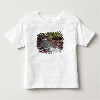 Waterton湖の国立公園の無くなった馬の入り江 トドラーTシャツ