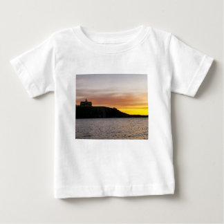 Waterton湖の国立公園カナダ ベビーTシャツ