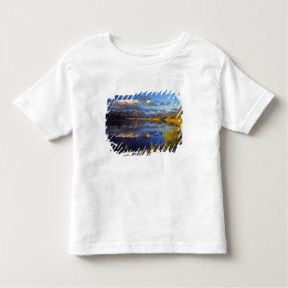 Waterton湖の国立公園3のMaskinonge湖 トドラーTシャツ