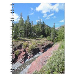 Waterton湖の国立公園 ノートブック