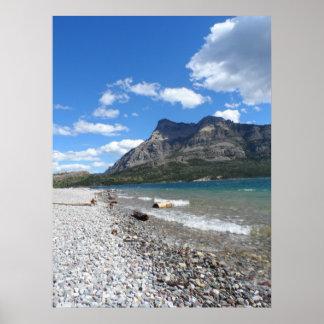 Waterton湖の国立公園 ポスター