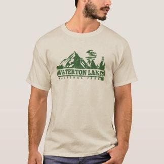 Waterton湖の国立公園 Tシャツ