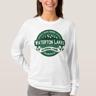 Waterton湖の深緑色 Tシャツ