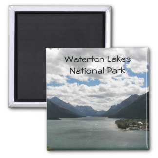 Waterton湖旅行写真 マグネット