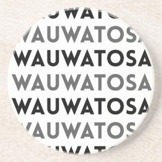 Wauwatosaウィスコンシンのタイルのデザイン コースター