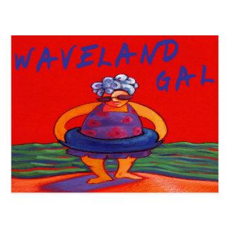 Waveland Gal ポストカード