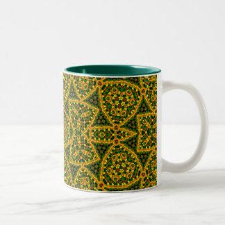 Wazirの宮殿のモザイクマグ ツートーンマグカップ