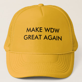 WDWに素晴らしいアルファ人のクラスの帽子を再度作って下さい キャップ