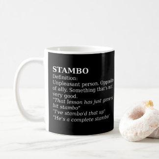 WDYHC No12, Stambo コーヒーマグカップ