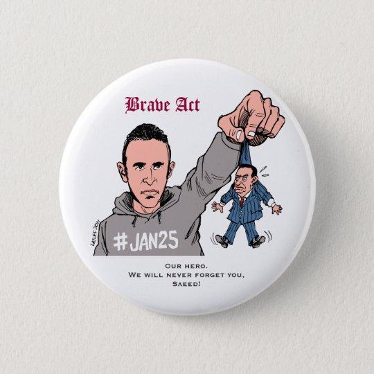 We are all Khaled Said #Jan25 5.7cm 丸型バッジ