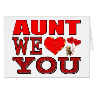 We Love叔母さん カード