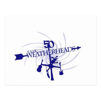 Weatherheadsのモーテルカリフォルニア公平な旅行 ポストカード