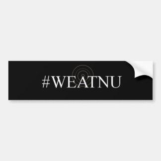 #WEATNUの「Antennaの黒いバンパーステッカー バンパーステッカー