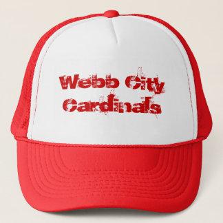 Webb都市(鳥)ショウジョウコウカンチョウの帽子 キャップ