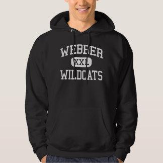 Webber -山猫-中間- Saginawミシガン州 パーカ