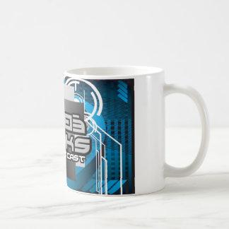 WeBeGeeksのポッドキャスト コーヒーマグカップ