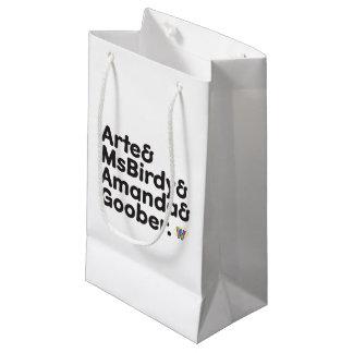 Webkinzの名前のデザイン スモールペーパーバッグ